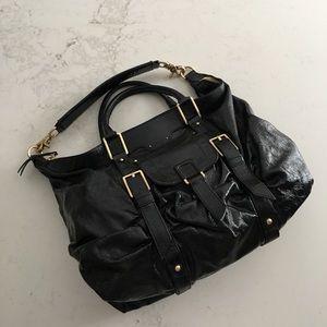 Botkier black Saha patent leather shoulder bag